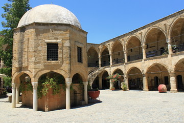 Buyuk Han, Cultural center in Nicosia, Cyprus