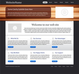 website tempate - wood texture, white paper