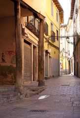 Street in the city of Leon