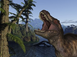 Tyrannosaurus Rex - 3D Dinosaurier