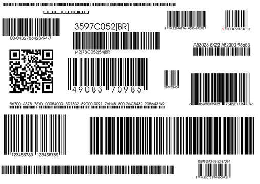 standard barcodes and shipping barcode