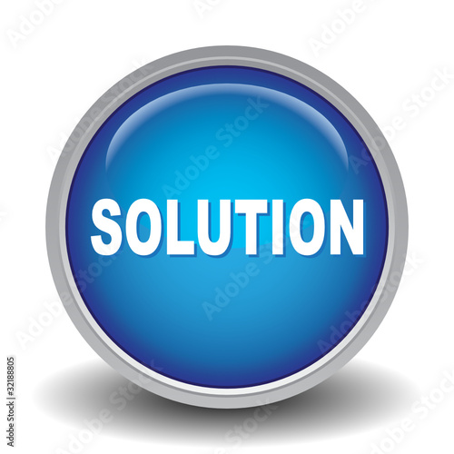 solution icon stock image and royalty free vector files on fotolia