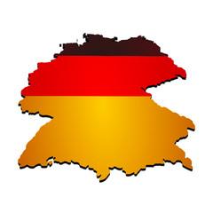 landkarte deutschland 1