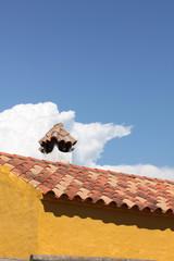 Himmel und Dach