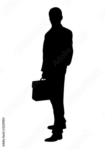 businessman silhouette stock image and royalty free vector files on
