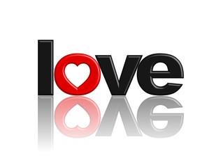 """""""LOVE"""" Icon (heart I love you romantic valentine's day symbol)"""