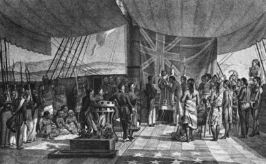 The Christening of the Kings Prime Minister in Hawaii