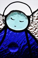 Витражный ангел