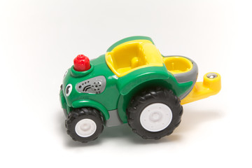 A child's tractor