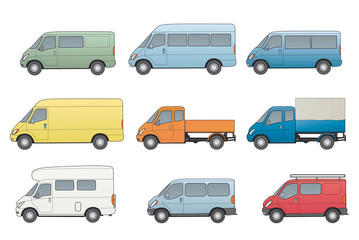 Autos- Nutzfahrzeuge, Transporter, diverse, Wohnmobil