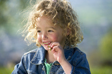 Smile from children