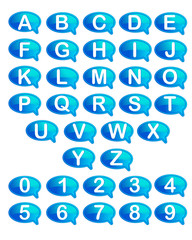 Set of Alphabet and Number