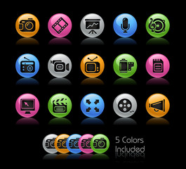 Multimedia/ The vector file includes 5 colors