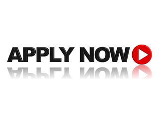 """APPLY NOW"" Icon (jobs vacancies careers join online web button)"