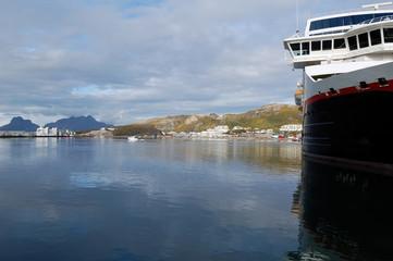 Ship on Bodo Harbor