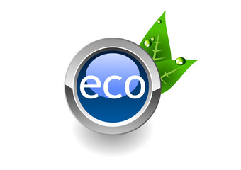 eco button/ save world