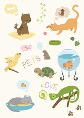Cute Pets' Set