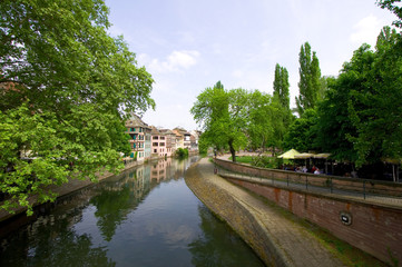 Petite France - Straßburg - Elsass - Frankreich