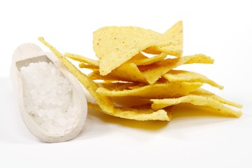 Fototapeta salt nachos obraz