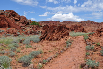 Twyfelfontein landscape,Namibia
