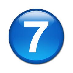 Boton brillante numero 7