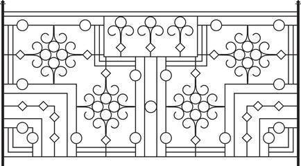 Wrought Iron Gate, Door design
