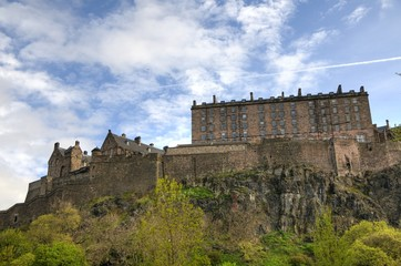 Edinburgh / Scotland - Castle of Edinburgh