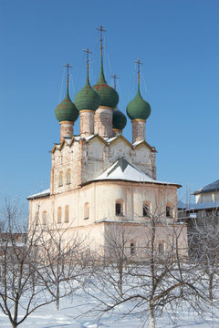 Russia, Rostov. Church of St. Gregory the Theologian