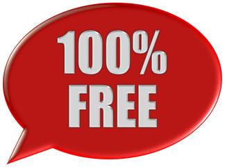Sorechblase rot 100% FREE