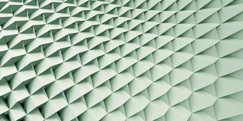 Green Geometric Screen