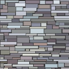 Seamless structure of a decorative stone wall.