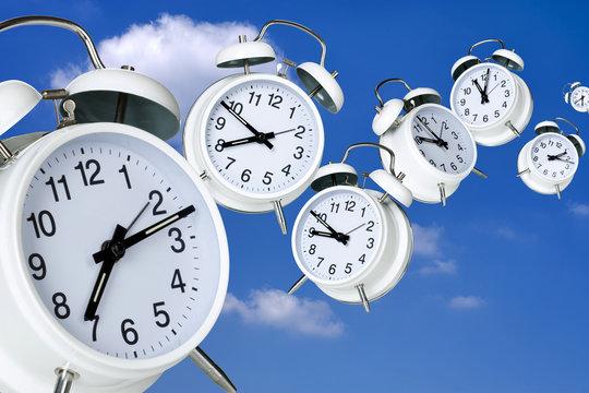 Die Zeit verfliegt schnell