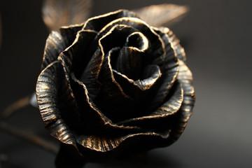 Metallic Rose.