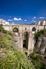 New bridge in Ronda, Andalucia, Spain