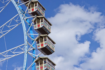 Kabinen Gondel von einem Riesenrad Ausschnitt