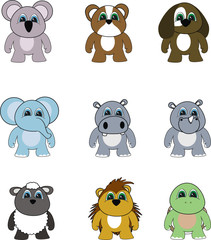 animal cartoon set pack3