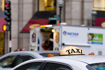 Taxi Car Top