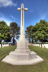 HDR du cimetière britannique de Ryes-Bazenville