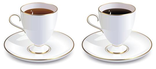 Vintage coffee and tea mug