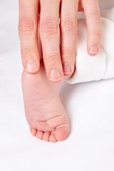 Osteopathie-Behandlung bei Baby