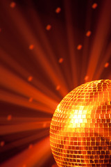 Fototapete - disco party background