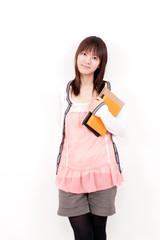 a portrait of beautiful asian girl