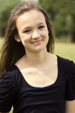 Mädchen Portrait