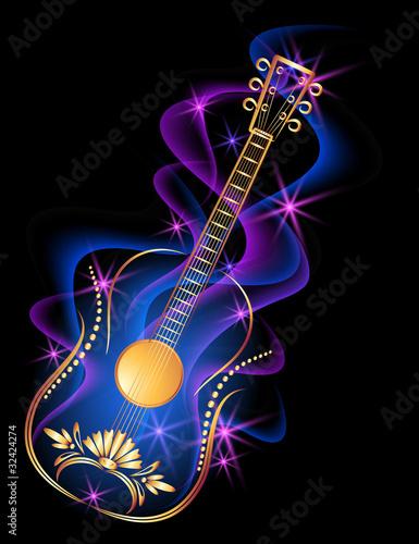 """Guitar in smoke"" Stok Gorseller ve Telifsiz vektor dosyalar? Fotolia.com 'da - Resim 32424274"