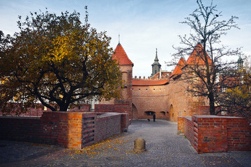 Barbican - Fortified outpost in Warsaw