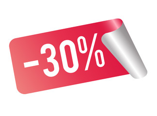 Rabatt 30 Prozent