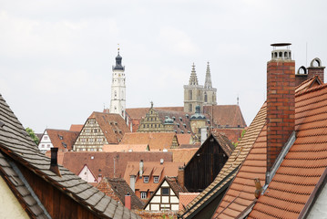 Roofs of Rothenburg
