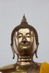 Gold statue image of Buddha