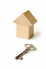 The Wooden House And Key