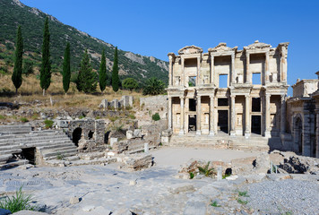 Celsius Library at ancient Ephesus